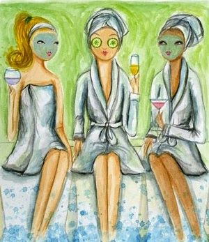 Future activity for Book Club? Pamper Party at Refresh Medical Day Spa in OP, Kansas