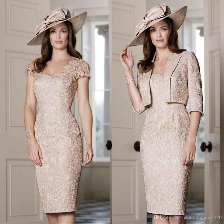 Champagne Lace Tea Length Mother Of The Bride Dresses With Sleeve Vintage Wedding Guest Dress Jacket Wrap Plus Size Evening Gowns Mother of the Bride Dresses Tea Length Mother Of The Bride Dresses Wedding Guest Dress Online with 158.86/Piece on Fashionhouse2020's Store   DHgate.com