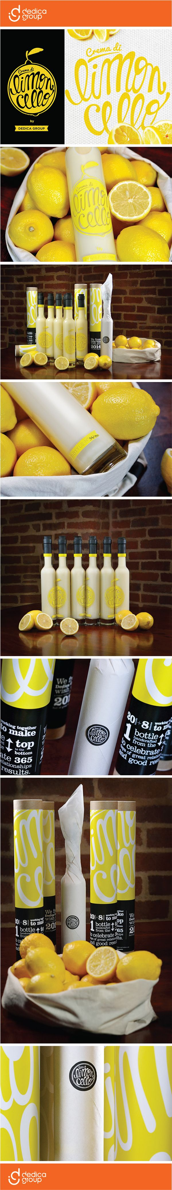 Crema di Limoncello Packaging on Behance