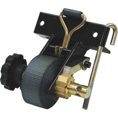 TruckStar Ratchet Tie-Downs - 2-Pk., 1500-Lb. Breaking Strength, 7ft. x 1 1/2in., Includes Angle Mount, Model# 548005 by TruckStar. $73.50. TruckStar Ratchet Tie-Downs have structural steel mounts and ratchet mechanisms for reliable, easy-to-use cargo control. Strap Width (in.): 1 1/2, Fastener Type: Double J-hooks, Breaking Strength (lbs.): 1,500, Strap Length (ft.): 7, Working Load (lbs.): 500, Straps (qty.): 2