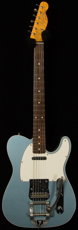 Fender Custom '62 Tele Custom 2012 NAMM Ice Blue Metallic