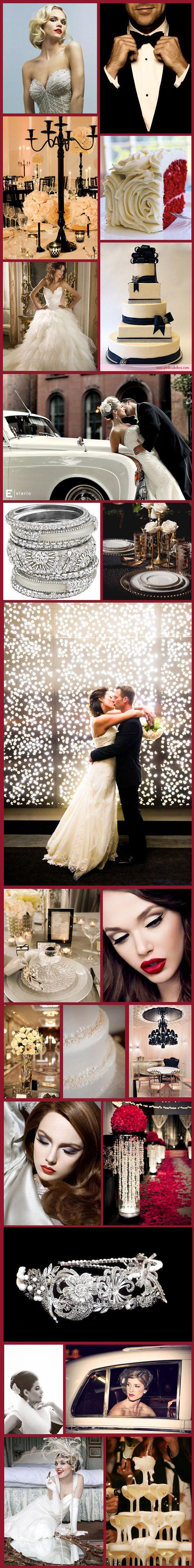 Wednesday Wedding Inspiration: Hollywood Glamour