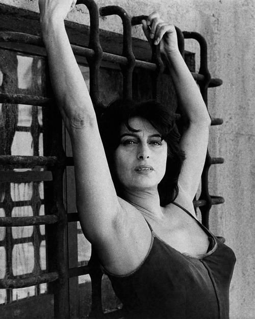 Anna Magnani - probably one of the most beautiful, passionate and intense actresses ever.