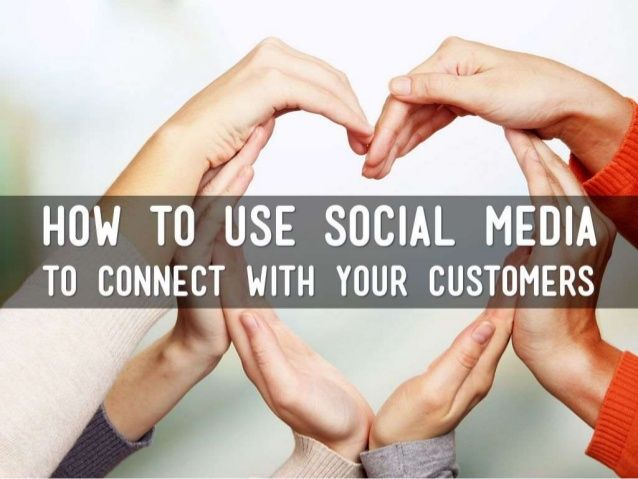 How to use social media for business presentation