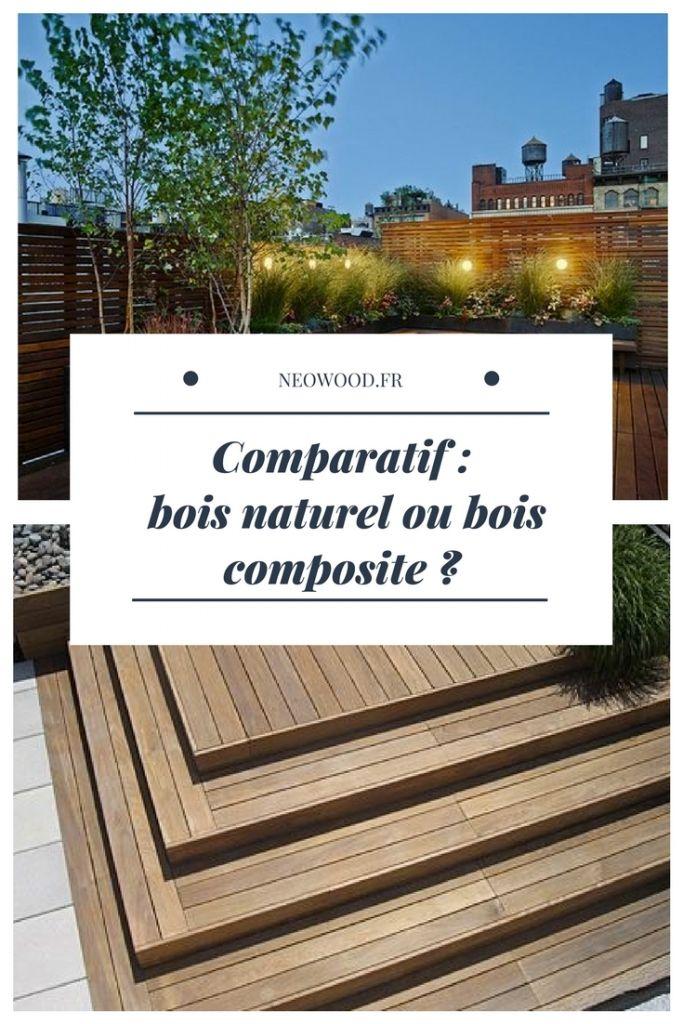 Comparatif Bois Naturel Ou Bois Composite Terrasse Bois Composite Bois Naturel Terrasse Bois