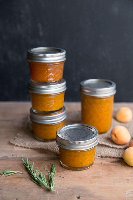 Apricot rosemary jam recipe