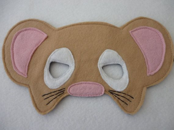 Hey, I found this really awesome Etsy listing at https://www.etsy.com/listing/127574937/hand-finished-mouse-masktoydress