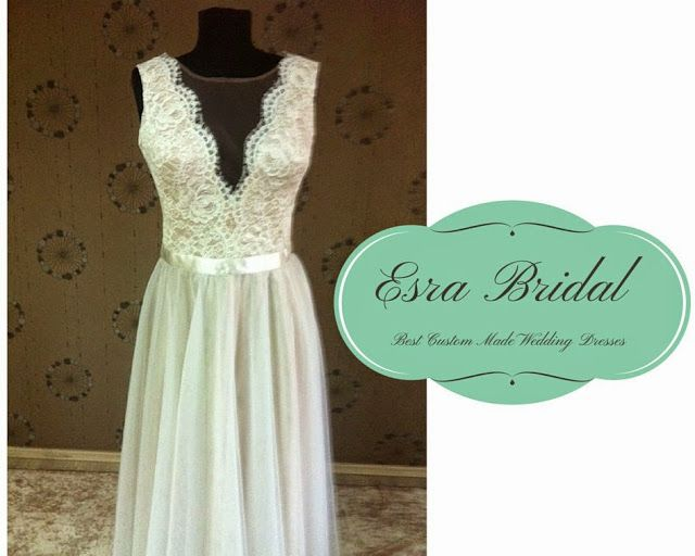 50+ best Custom Made Wedding Dress Pictures from Esra Bridal images ...