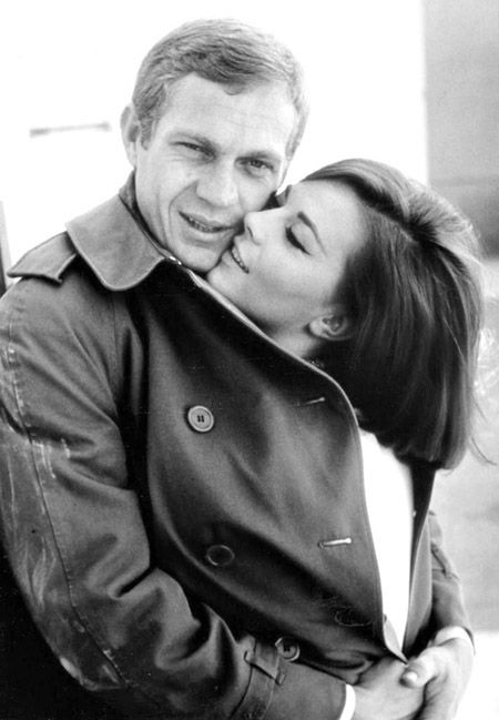 The Reiss Menswear Diaries: MEN'S JACKETS NOW & THEN: Steve McQueen and Natalie Wood 1963