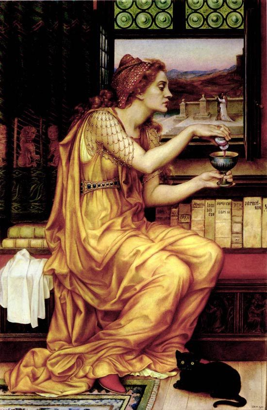 Love Potion, Evelyn De Morgan