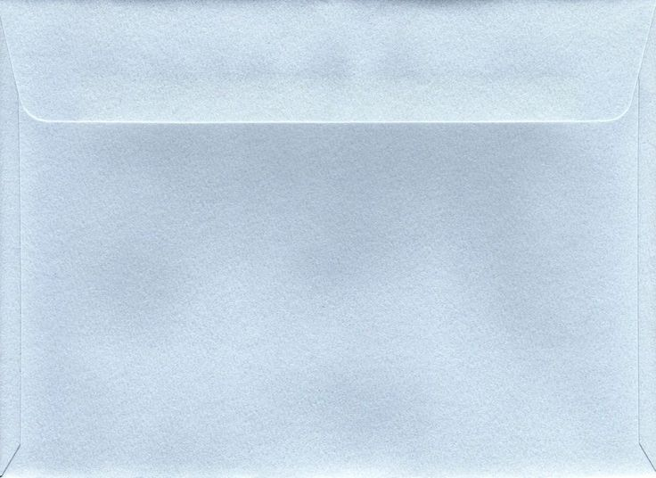 NEW 5 1/8 x 7 inch BABY BLUE Envelopes (20) Quality TEXTURED  130mm x 178mm