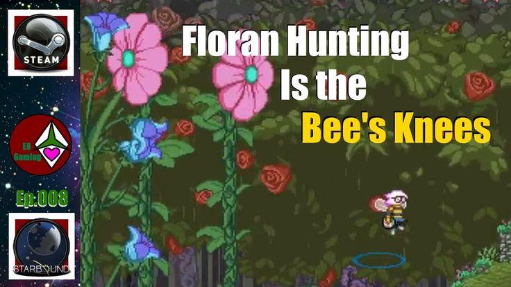 StarBound 1.2+ NovaKid: Lets Play: Season 1 Ep.008: Floran hunting is the Bees knees