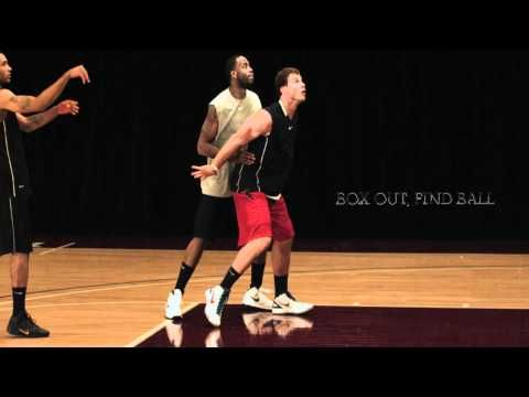 Nike Pro Training Drills, Blake Griffin, Rebounding: Box-Out Drill - YouTube