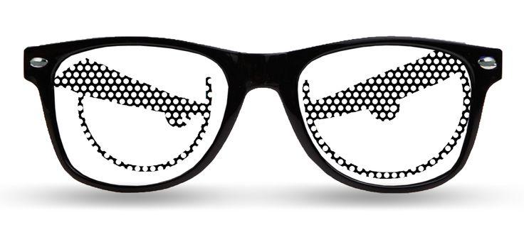 LoudLenses® Originals Retail White Eyes
