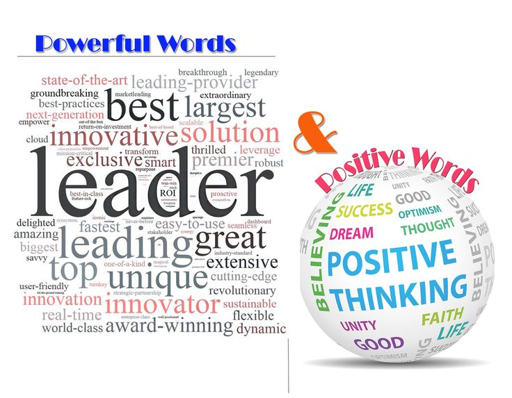 Positive Words And Powerful Words - The Power Of Words Post ...