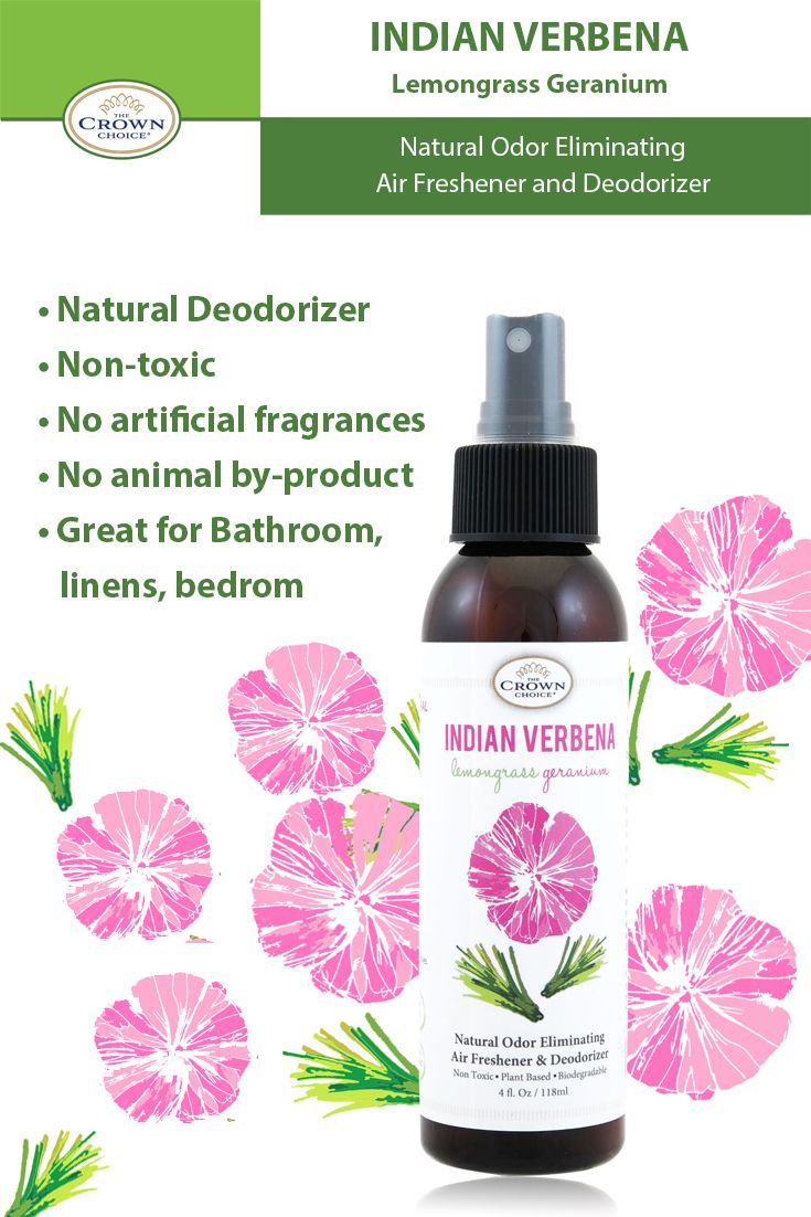 Best Air Freshener Made With Natural Ingredients Indian Verbena