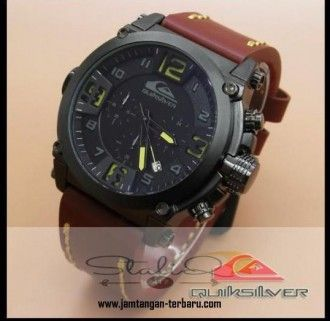 QUICKSILVER 6605 BROWN LEATHER LIST YELLOW