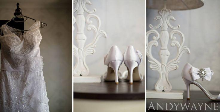 Wedding dresses & shoes andywayne photography