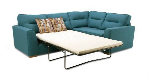 Zest Left Hand Facing 2 Seater Corner Sofa Bed Revive | DFS