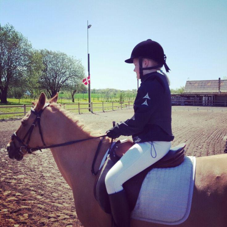 Freya on horse
