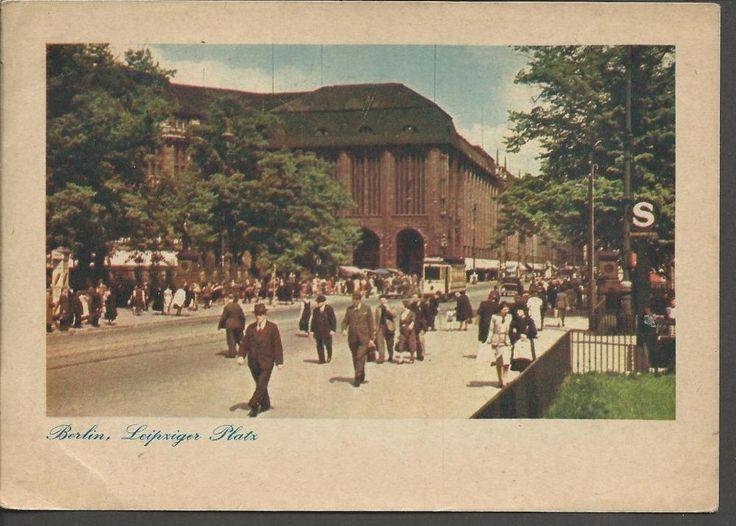 #retweet #postcards Vintage c1930's Postcard BERLIN Leipziger Platz Germany #RT 50% OFF when you Buy 3+