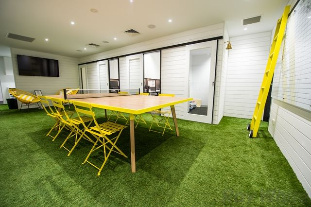 New Office With Astro Turf Grass Roots Real Estate