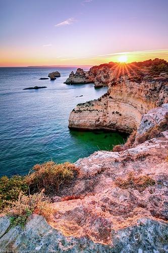 Cliffs at Prainha, Alvor, Algarve, Portugal