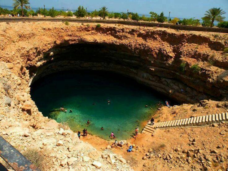 Bimma Sinkhole, Oman