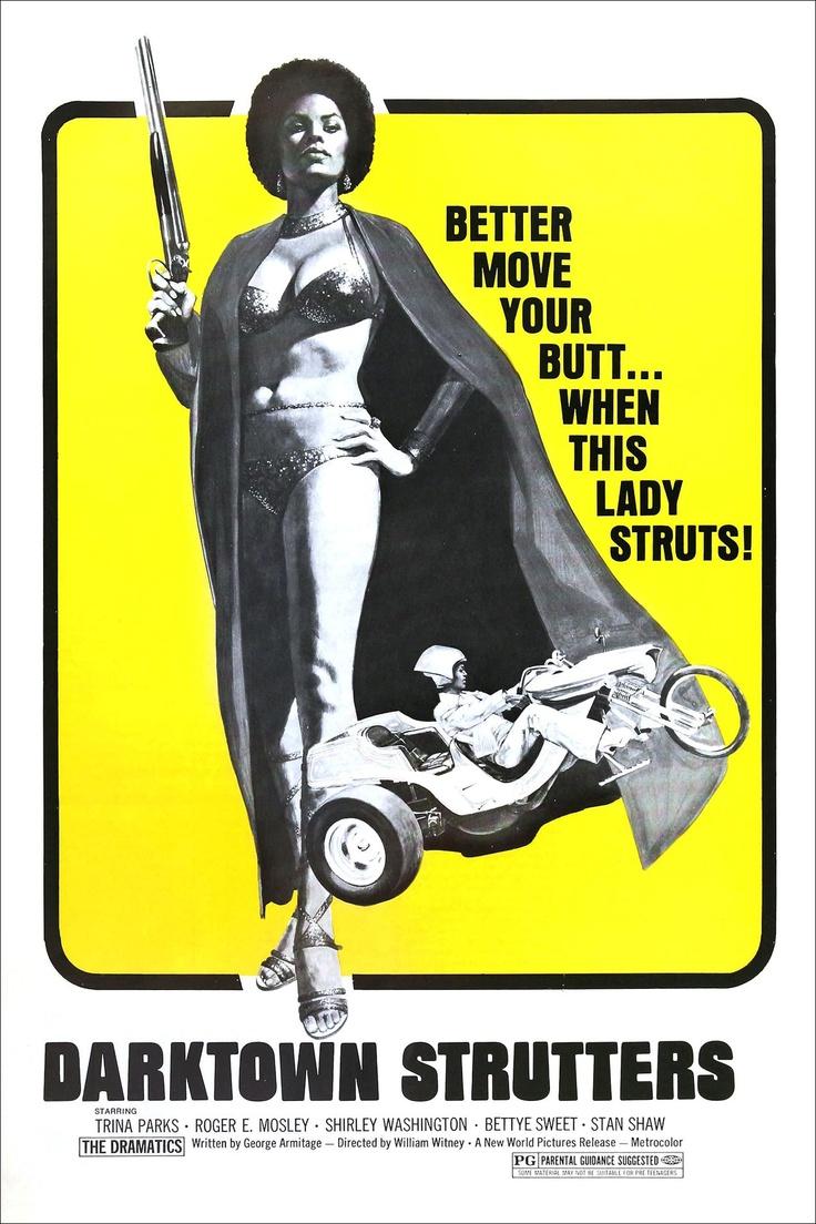 Darktown Strutters (1975) starring Trina Parks, Roger E. Mosley & Shirley Washington