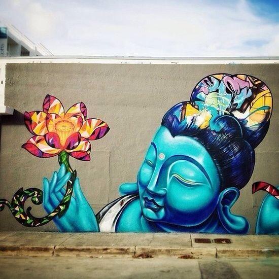 Best Street Art Images On Pinterest Urban Art Street Art - Amazing graffiti alters perspective space