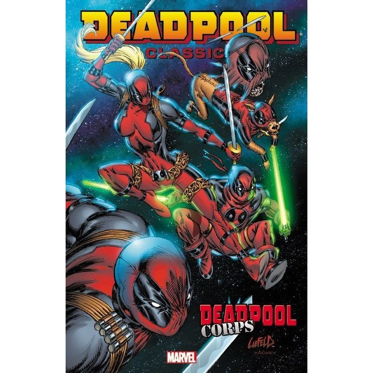 Marvel Deadpool Classic 12: Deadpool Corps
