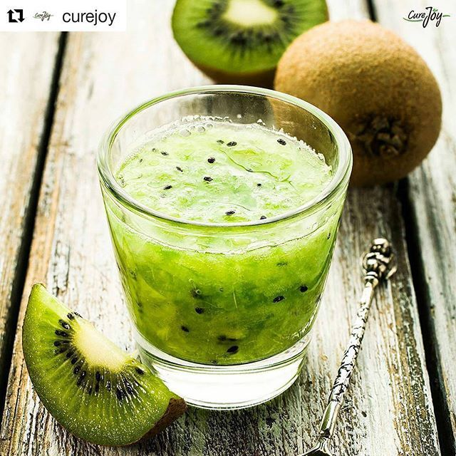 From Instagrammer @curejoy  Fact: Kiwifruit is an excellent source of vitamin C and vitamin K as well as a very good source of copper and dietary fibre For more......... follow me on Instagram xx