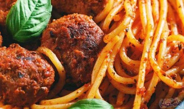 مكرونة بكرات اللحم في 30 دقيقة Cooking Recipes Meatball Recipes 30 Minute Meals