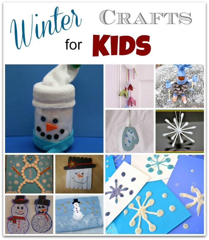 Winter Crafts Kids