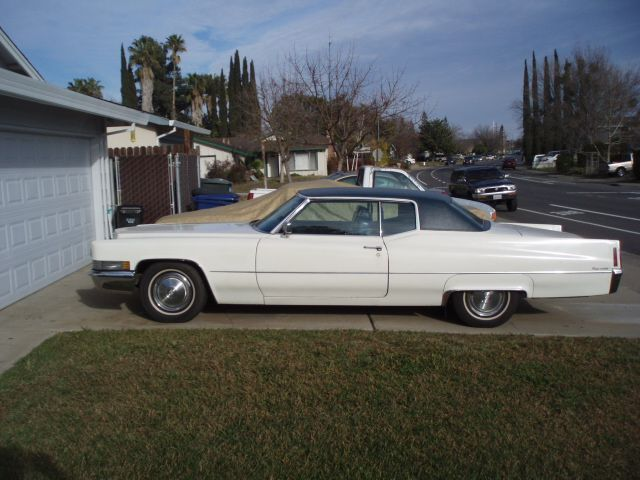1970 Coupe Deville Cadillac 2 Door White For Sale In
