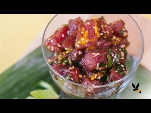 Our favorite Poke recipe!    Hawaiian Ahi Poke Recipe - Honeysuckle Catering