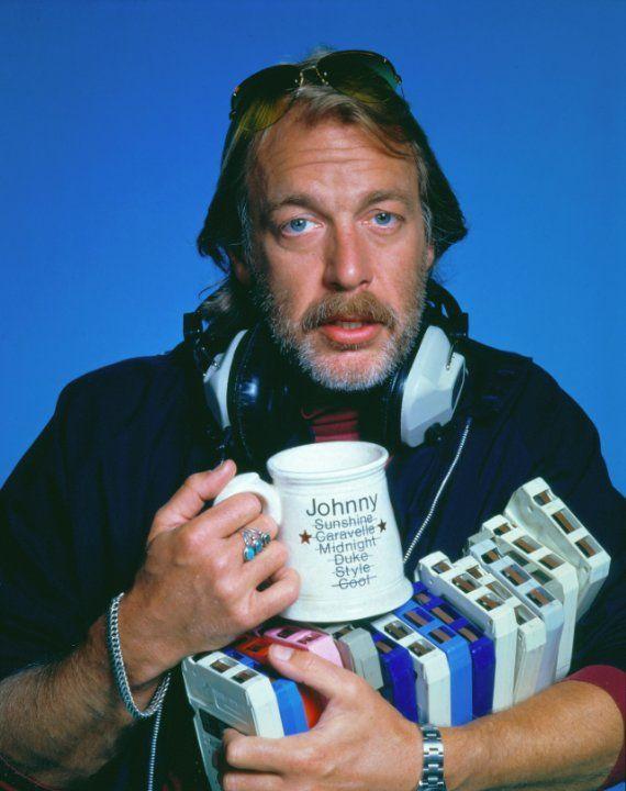 """Howard Hesseman as """"Johnny Fever"""" in WKRP in Cincinnati (1978)"""