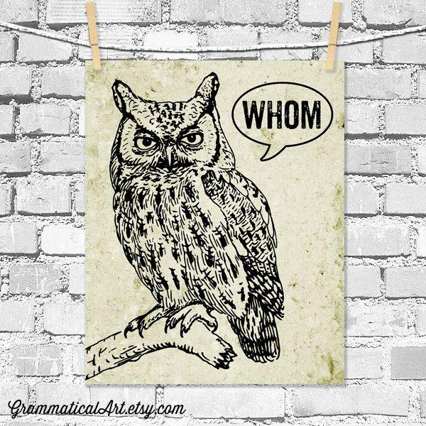 owl humor reading - photo #33