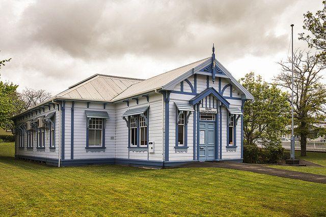 Waihi Courthouse Waikato New Zealand