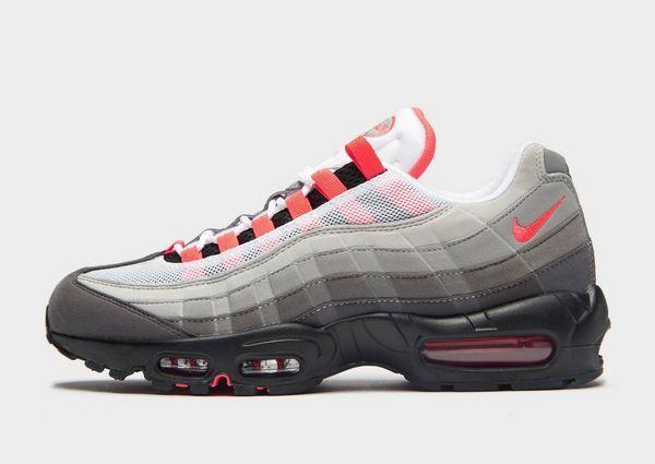 separation shoes 2e92e e2e93 classic white red grey 95's #95 #sneakers #nike   Sneakers ...