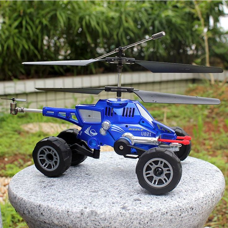 RC Drone UDI U821 RC Helicopter Quadcopter 3.5CH multi-purpose vehicles flying fired missiles Control driving on land flying Car //Price: $52.00      #tech