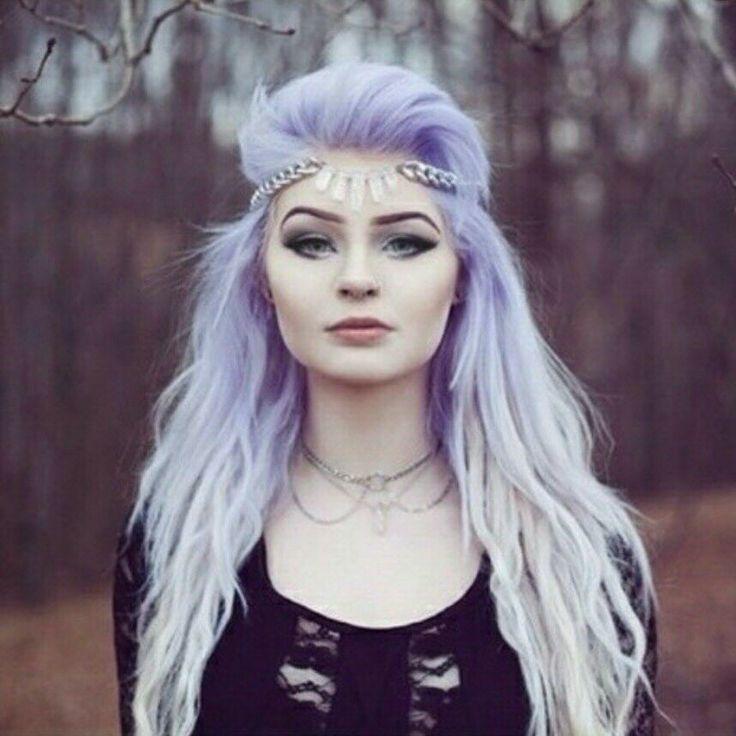 Pastel goth purple hair   ombre hair   HairSpray ...