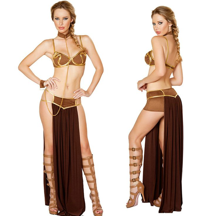 Star Wars Princess Leia Slave Outfit Women Costume