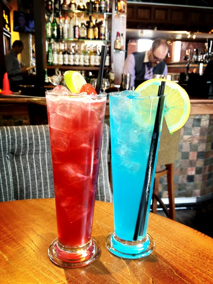 Cardiff City...wether you're red or blue, we have the cocktail for you...Controversial