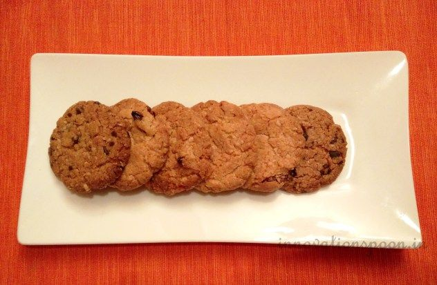 Oatmeal Cookies | A crisp egg-less oatmeal cookie loaded with chocolate chip and nuts, right out of the oven is a tasty treat that can also be nutritious.