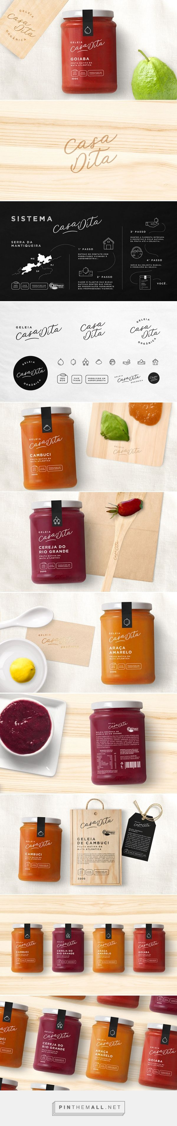 Casa Dita jam by Bea Janoni. Source: Daily Package Design Inspiration. Pin curated by #SFields99 #packaging #design #inspiration #ideas #branding #jar #jam