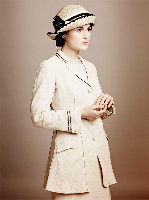 Michelle #Dockery as Lady Mary Crawley in '#Downton Abbey'