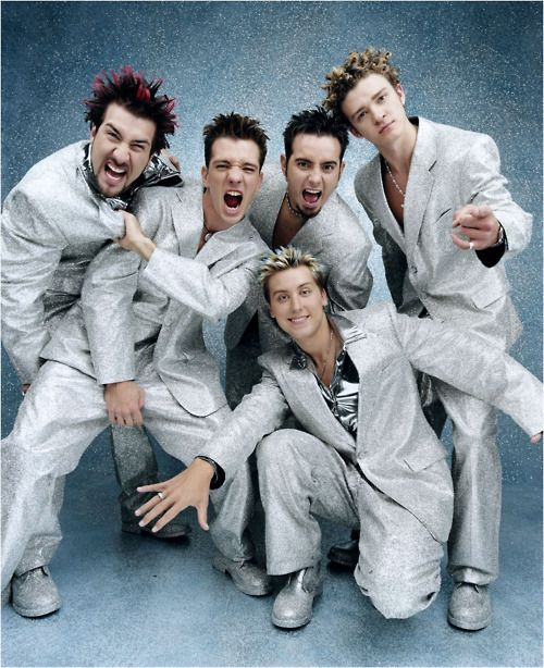NSYNC I don't care how old you are now, please just get back together and record a few more albums <33