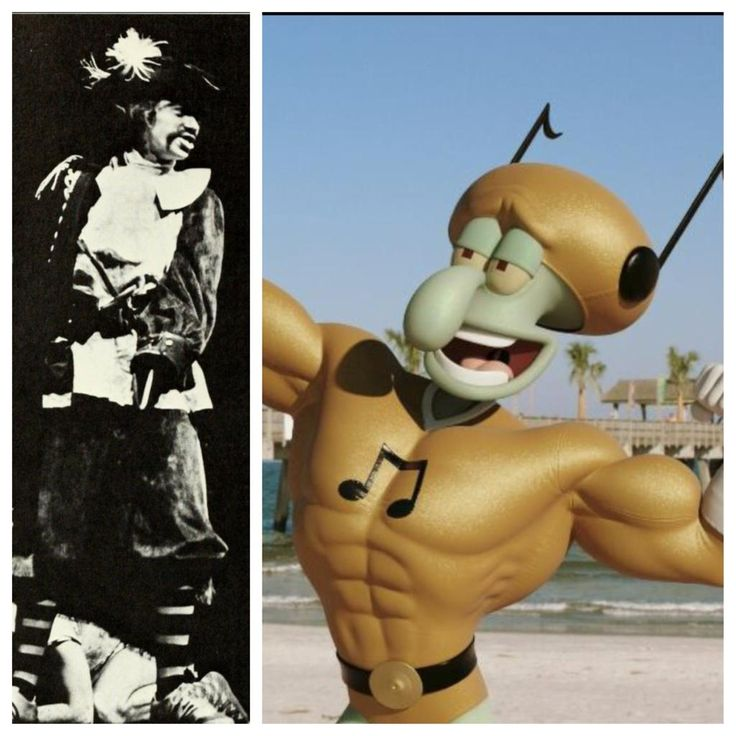 #TBT 1975 #AState grad Rodger Bumpass as Capt. Hook & as Squidward's voice in new SpongeBob movie.