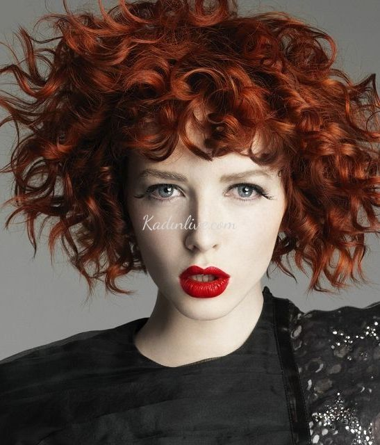 Koyu Kırmızı Kızıl Saç Rengi 2016 Tonları - Kadinlive.com